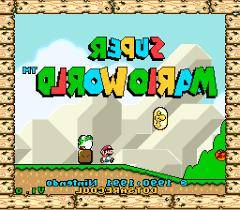 Play Super Mario World ao CONTRÁRIO