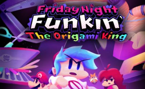 Play FNF VS Paper Mario: The Origami King Unblocked