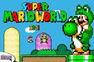 Play Super Mario World (Versão 2021) no Super Nintendo