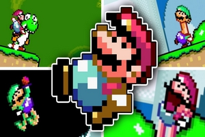 Play Most Hilarious Super Mario World Rom Hack EVER!