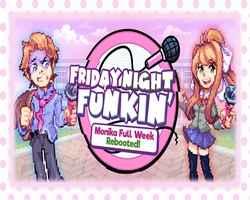 Play Monika Full Week Rebooted