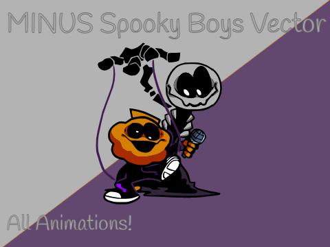 Play FNF Minus – Spooky Boys (Vector)