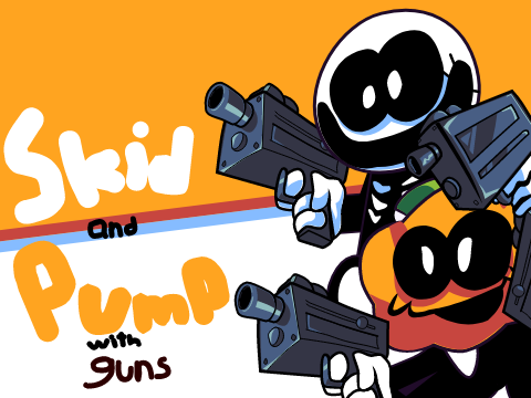 Play Skid and Pump With Guns Test