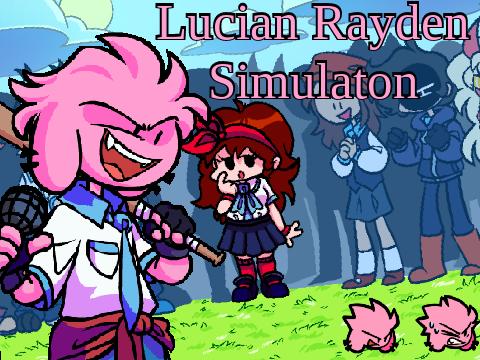 Play Lucian Rayden FNF Simulator Test