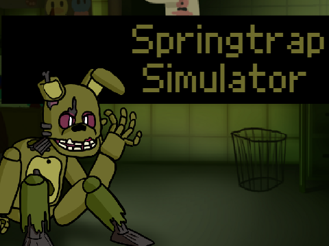 Play Springtrap Simulator FNF Test