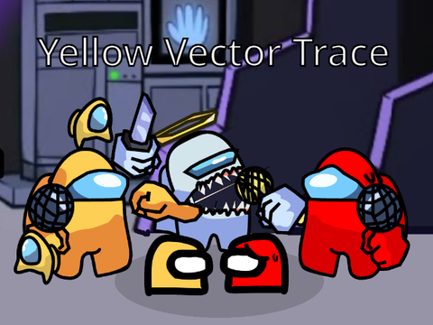 Play Yellow Among Us [Vector Trace] Test