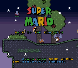 Play Back to the Classics (SMW Hack)