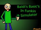 Play Baldi's Basics in Funkin Simulator Test