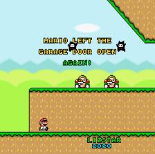 Play Mario Left the Garage Door Open Again!
