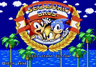 Play SegaSonic Bros Online