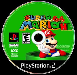 Play Super Mario 64 para PS2 Online
