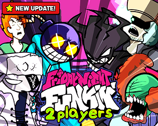 Play FNF 2 Players 🎵 FNF Online [Update 7]