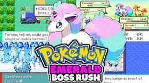 Play Pokemon Emerald Boss Rush (GBA)