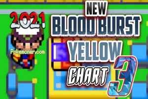 Play Pokemon Blood Burst Yellow Chart 3 (GBA)